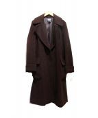 DKNY(ダナキャランニューヨーク)の古着「ベルト付トッパーロングコート」