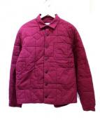 Folk(フォーク)の古着「中綿シャツジャケット」|ボルドー