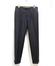 INCOTEX(インコテックス)の古着「センタープレスウールパンツ」 グレー