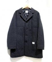 BEDWIN(ベドウィン)の古着「ウールシェルショップコート」|グレー