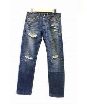 AG×Ron Herman(エージー×ロンハーマン)の古着「ダメージ加工デニムパンツ」