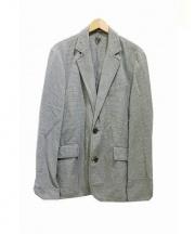 BOGLIOLI(ボリオリ)の古着「2Bチェックジャケット」|グリーン×ホワイト