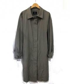 23区(ニジュウサンク)の古着「ステンカラーコート」|カーキ