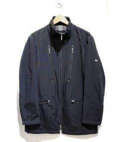 BURBERRY BLACK LABEL(バーバリーブラックレーベル)の古着「ナイロンジャケット」|ブラック