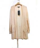 iCB(アイシービー)の古着「トッパーカーディガン」|シャーベットオレンジ