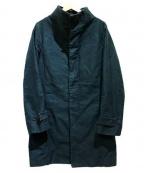 OURET(オーレット)の古着「スタンドカラーコート」|グリーン