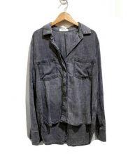 Bella Dahl×PLST(ベラダール×プラステ)の古着「別注長袖シャツ」|ブラック