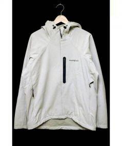 mont-bell(モンベル)の古着「ノマドパーカー」 ライトグレー