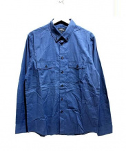 A.P.C(アーペーセー)の古着「ボタンダウンシャツ」 ネイビー