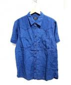 A.P.C(アーペーセー)の古着「リネン混インディゴシャツ」|インディゴ