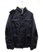 BLUE BLUE(ブルーブルー)の古着「裏ボアハンティングジャケット」 ブラック