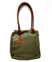Felisi(フェリシ)の古着「コンビハンドバッグ」|オリーブ