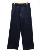 HYKE(ハイク)の古着「WORK WIDE PANTS」|ネイビー