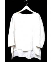 GALLARDA GALANTE(ガリャルダ ガランテ)の古着「ツイルラインブラウス」|ベージュ