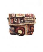 JAMIN PUECH(ジャマンピュエッシュ)の古着「ショルダーバッグ」|ブラウン