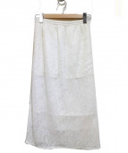 ELENDEEK(エレンディーク)の古着「スカート」|ホワイト