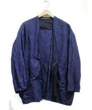 elsa esturgie(エルサ エステュルジー)の古着「リネンジャケット」|ネイビー
