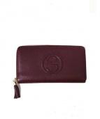 GUCCI(グッチ)の古着「長財布」|ボルドー