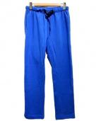 GRAMICCI(グラミチ)の古着「スウェットクライミングパンツ」|ブルー