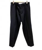 CellarDoor(セラードアー)の古着「タックパンツ」|ブラック