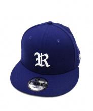 RHC Ron Herman x New Era(ロンハーマン×ニューエラ)の古着「スター刺繍入りコラボキャップ」|ブルー