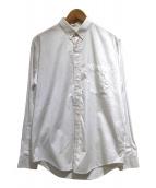 AMI Alexandre Mattiussi(アミ アレクサンドル マテュッシ)の古着「ボタンダウンシャツ」|ホワイト