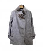 GALLERY VISCONTI(ギャラリービスコンティ)の古着「袖リボンコート」|グレー