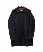 BARACUTA(バラクータ)の古着「ステンカラーコート」|ブラック