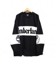 Timberland×Mastermind JAPAN(ティンバーランド×マスターマインドジャパン)の古着「ロングスリーブカットソー」 ブラック