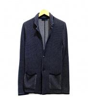 LARDINI(ラルディーニ)の古着「テーラードジャケット」 ネイビー
