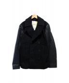 Denim & Supply Ralph Lauren(デニムアンドサプライ ラルフローレン)の古着「Pコート」|ブラック