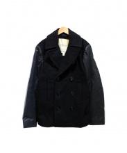 Denim & Supply Ralph Lauren(デニムアンドサプライ ラルフローレン)の古着「Pコート」 ブラック