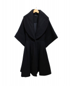 A DEGREE FAHRENHEIT(エーディグリーファーレンハイト)の古着「ウールコート」|ブラック