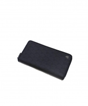 dunhill(ダンヒル)の古着「ラウンドファスナー財布」|ブラック