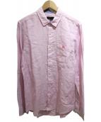 BURBERRY BLACK LABEL(バーバリーブラックレーベル)の古着「リネンシャツ」
