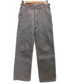 FUMIKA UCHIDA(フミカ ウチダ)の古着「コーデュロイパンツ」|グレー
