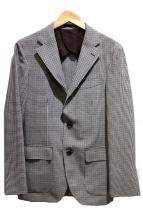 EDIFICE(エディフィス)の古着「CANONICOシェパードチェックジャケット」