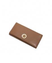 BVLGARI(ブルガリ)の古着「2つ折り長財布」 ブラウン