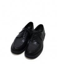 foot the coacher(フットザコーチャー)の古着「Uチップシューズ」|ブラック
