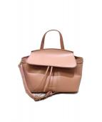 MAISON DE REEFUR(メゾンドリーファー)の古着「2WAYバッグ」|ピンク