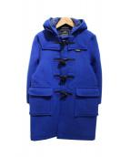 GLOVER ALL(グローバーオール)の古着「フーデッドダッフルコート」|ブルー