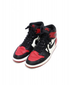 NIKE(ナイキ)の古着「AIR JORDAN 1 RETRO HIGH OG BRE」
