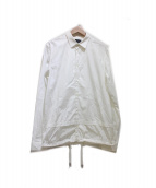 DISEL BLACK GOLD(ディーゼル ブラック ゴールド)の古着「シャツジャケット」|ホワイト