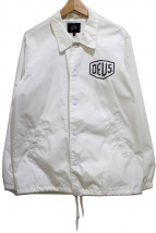 deus ex machina(デウス エクス マキナ)の古着「コーチジャケット」|ホワイト