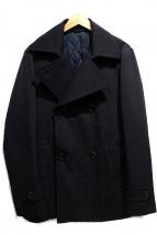 EPOCA UOMO(エポカ ウォモ)の古着「Pコート」|ブラック