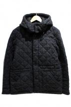 Traditional Weatherwear(トラディショナルウェザーウェア)の古着「ウールキルティングジャケット」|チャコールグレー