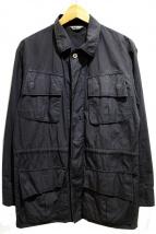 AURALEE(オーラリー)の古着「W/F RIPSTOP FARIGUE JK」|ブラック