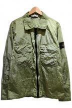 STONE ISLAND(ストーンアイランド)の古着「ナイロンメタルジャケット」|グリーン