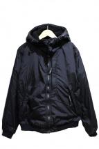 Hysteric Glamour(ヒステリックグラマー)の古着「HG SYMBOL 2WAYフーデットジャケット」|ブラック