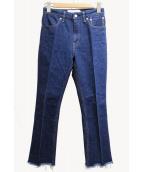 JANE SMITH(ジェーンスミス)の古着「カットオフジーンズ」